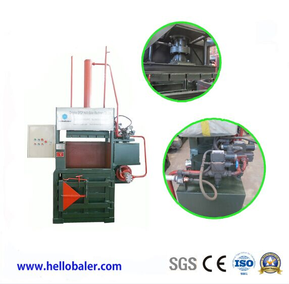 baling machine for waste paper and PET plastic bottle 수직압축기 썸네일